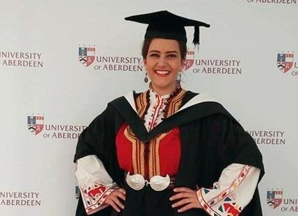 Една българка се дипломира в Шотландия и направи всички българи горди. Вижте как стопли сърцата на сънародниците ни!