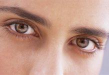 кафяви очи