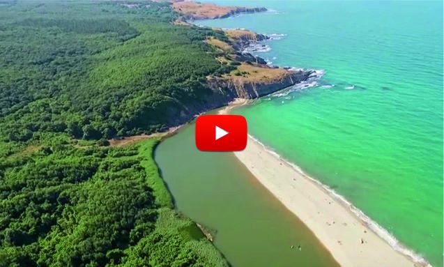БЕЗ ДУМИ! ВЕЛИЧЕСТВЕНА българска красота! УНИКАЛНИ кадри над Синеморец, заснети с помощта на дрон! (ВИДЕО)