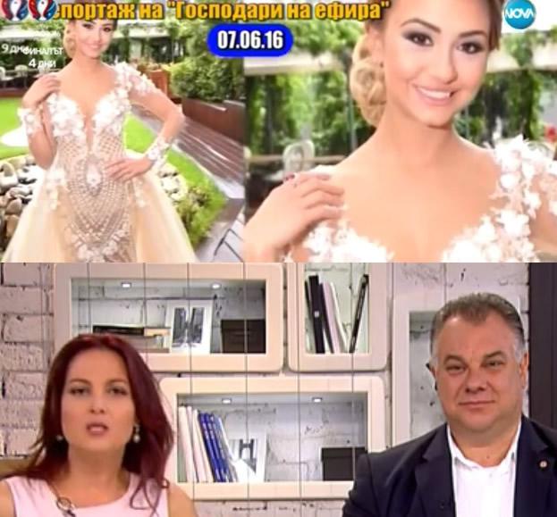 Бивш министър направи на пух и прах в ефир абитуриентката Каролина-Клер с роклята за 15 хиляди лева! (ВИДЕО)