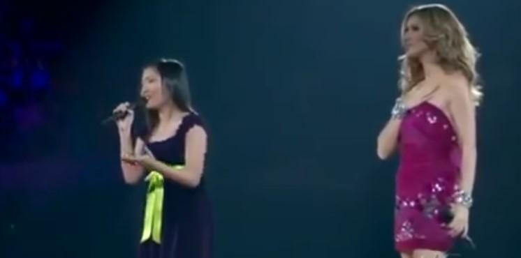 Малко филипинче сбъдна мечтата си! Тя успя да смае публиката с това прекрасно изпълнение в дует със Селин Дион! (ВИДЕО)