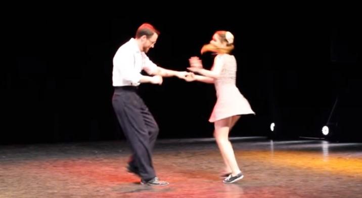 За ценителите на суинга! Вижте този феноменален танц, който впечатли всички! (ВИДЕО)