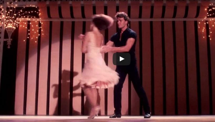 """НЕЗАБРАВИМА песен, която ще стопли душата ви! Вижте финалния кадър на филма """"Мръсни танци"""" с великия Патрик Суейзи! (ВИДЕО)"""