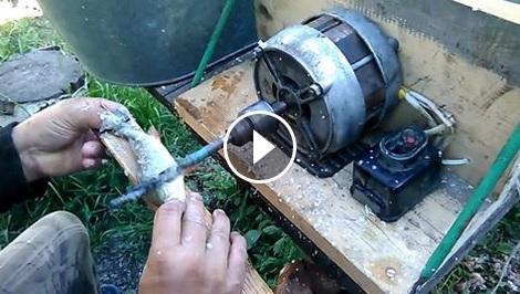 Чистенето на люспите на рибата е много досадна работа. Ще останете ИЗНЕНАДАНИ какво направи този човек! (ВИДЕО)