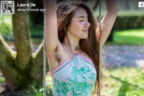Снимка на студентка с окосмени подмищници подпали интернет война в Белгия!