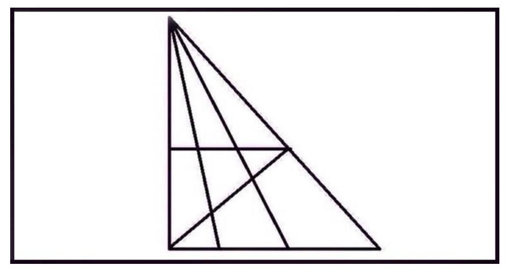 Концентрирайте се! Задача с триъгълници за хора с IQ над 120! Пробвайте се да я решите
