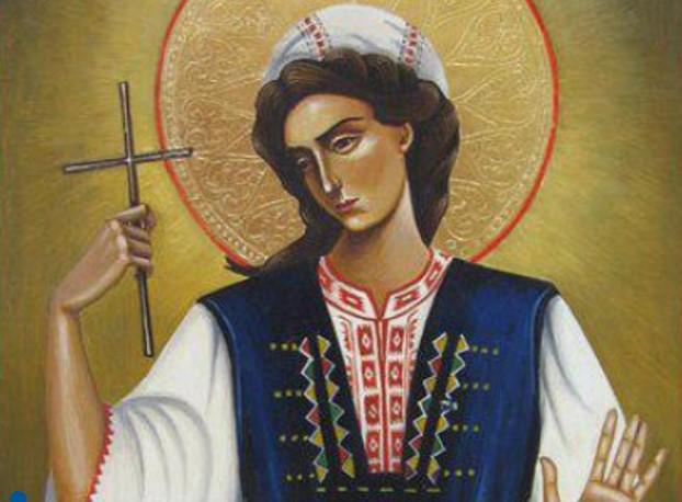 Днес почитаме ГОЛЯМА МЪЧЕНИЦА. Красавицата е била ИЗТЕЗАВАНА И ОБЕСЕНА от турците, защото отказала…