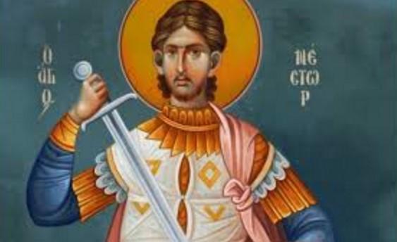 Днес е Мишкин ден, църквата почита голям светец. На обредната трапеза се слага курбан