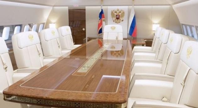 Новият самолет на Путин – вижте в какъв лукс пътува силният човек в Кремъл (СНИМКИ и ВИДЕО)