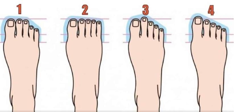 Формата на пръстите на краката разбулва всичките ви тайни! Вижте сами каво казва тялото ви за вас
