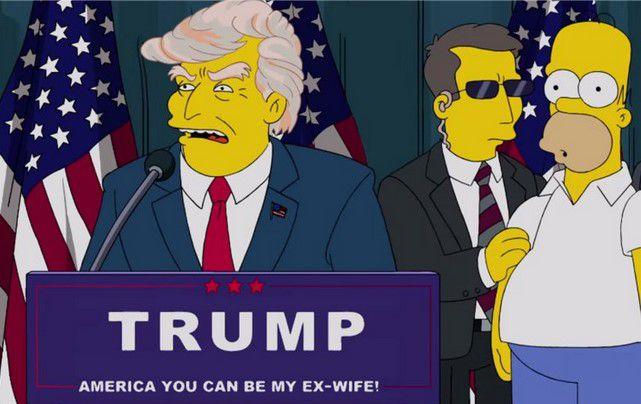 Няма майтап! Преди 16 години семейство Симпсън предрекоха, че Доналд Тръмп ще бъде президент на Америка (ВИДЕО)