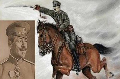 Преди 100 години този ВЕЛИК и БЕЗСТРАШЕН генерал проявява нечувана ХРАБРОСТ! Вижте как острата му сабя се развихря!