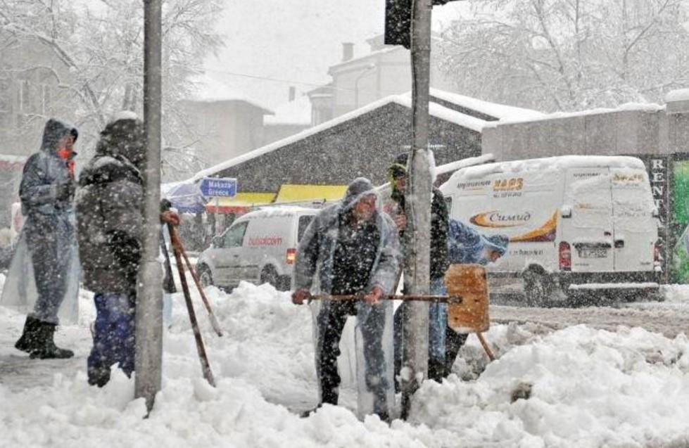 Информация от преди минути! Температурите се понижават! Снегът идва съвсем скоро и в България