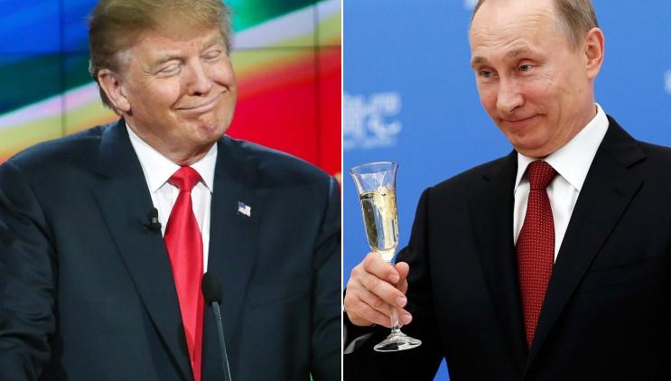 Обама изпадна в паника! Тръмп разговаря по телефона с Путин. Двамата се разбраха (ВИДЕО)