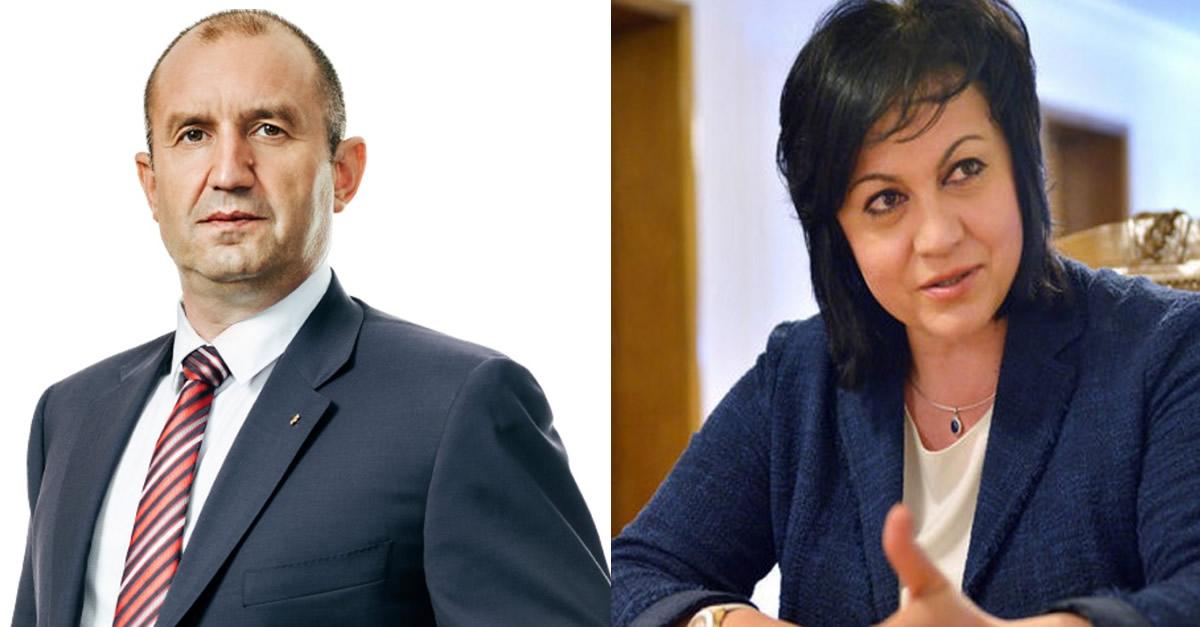 От БСП изплюха камъчето: Вижте кой ще е най-важният министър на Румен Радев