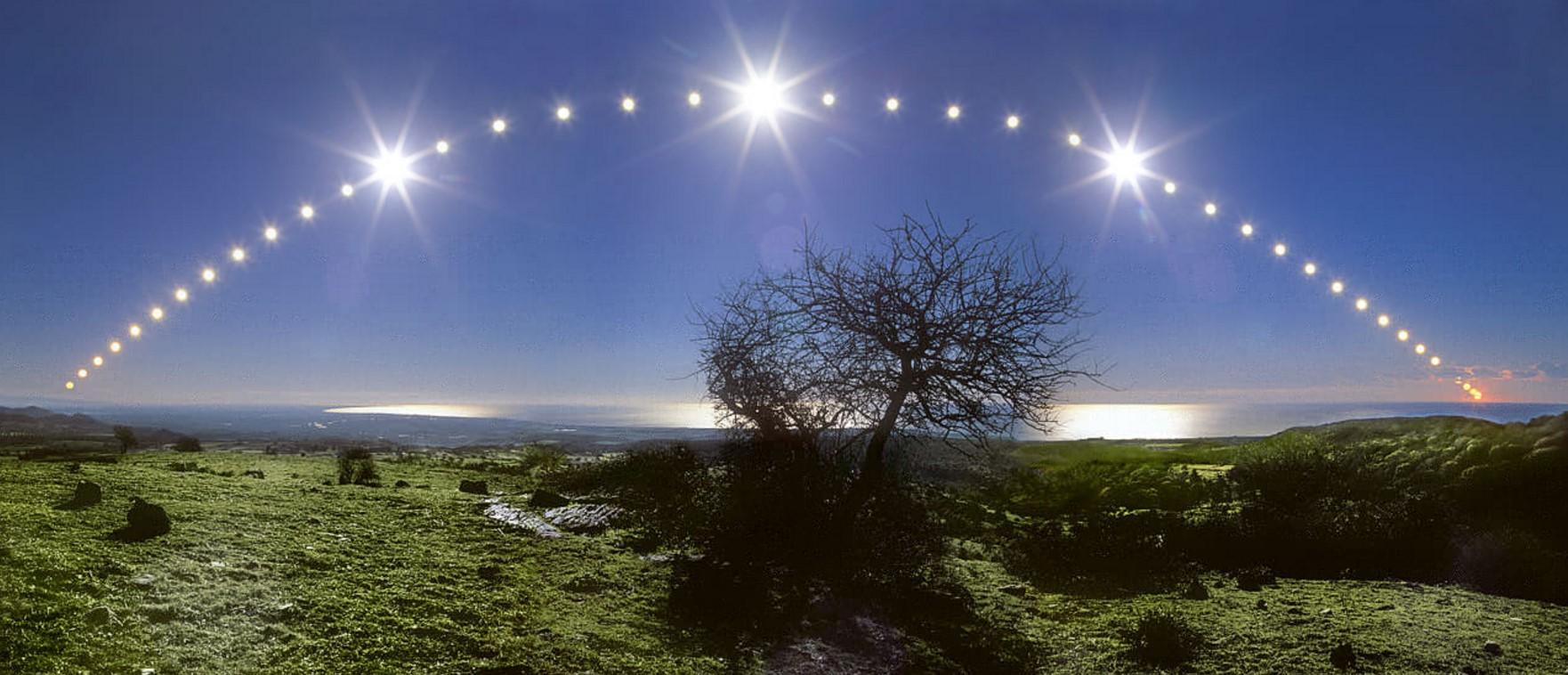 Всички гледат към него! Точно в 12:44 часа слънцето ще е максимално ниско над южния хоризонт. Астрономическата зима в България настъпва днес (СНИМКИ)