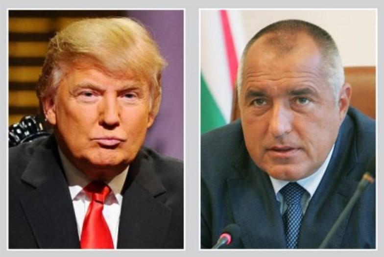 Доналд Тръмп към Бойко Борисов: Трябва скоро да се видим, пожелавам на българите успех