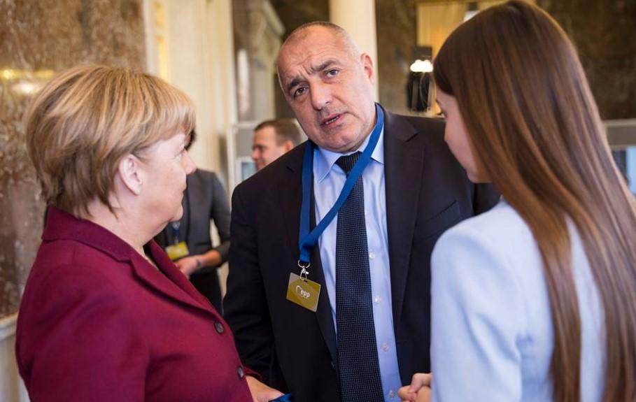 Първи кадри от срещата на Меркел и Борисов. Обсъждат 5 съдбоносни за България теми (СНИМКИ)