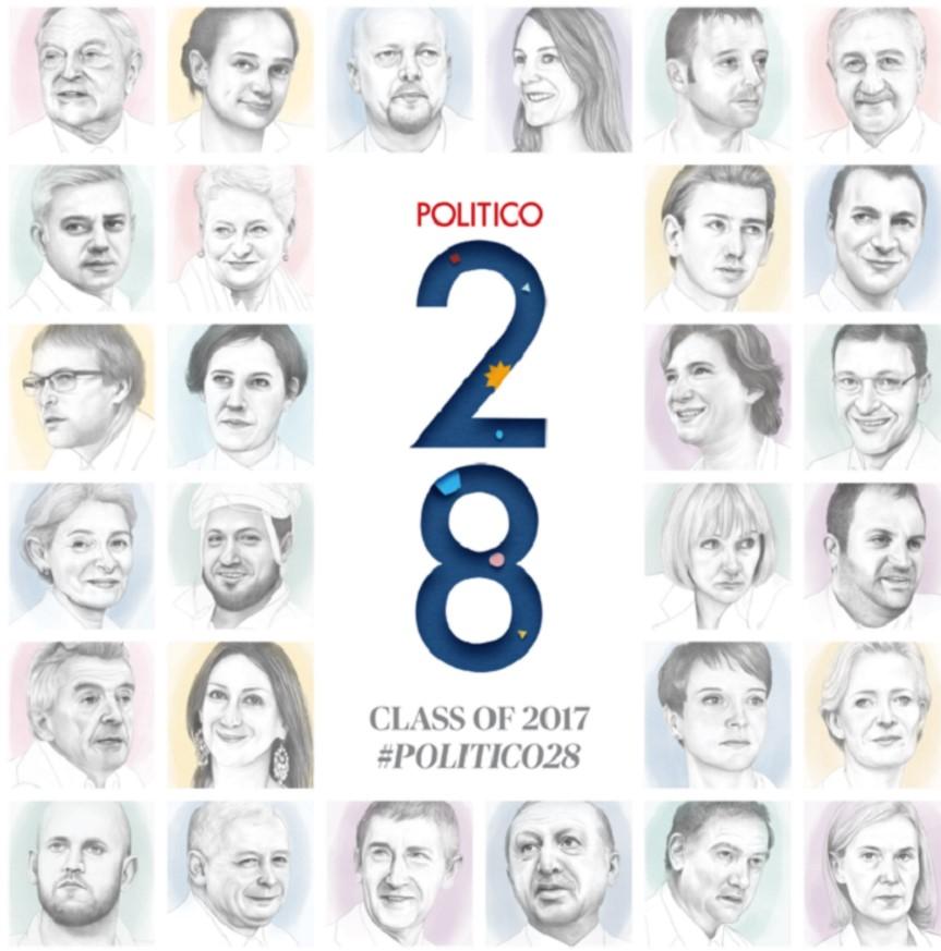 """Световното издание """"Политико"""": Българка е една от най-влиятелните личности на Европа"""