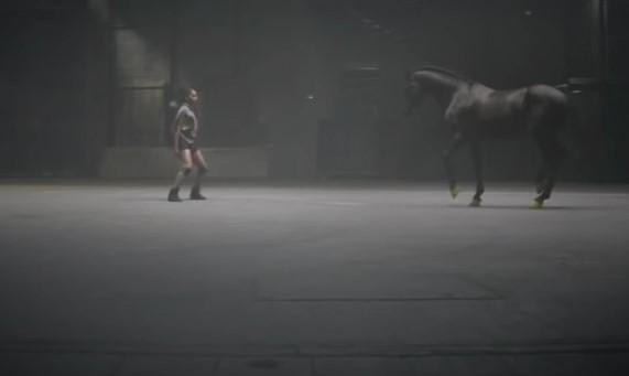 Тази балерина танцуваше завладяващо! Но когато се включи този кон, със сигурност ще онемеете от възторг (ВИДЕО)