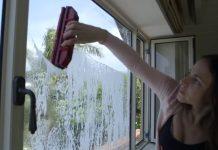 измиване на прозорците