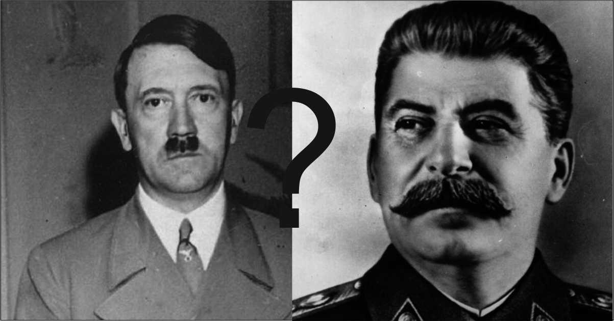 Вечният брутален спор: Хитлер или Сталин са избили повече невинни хора по време на тяхното властване?