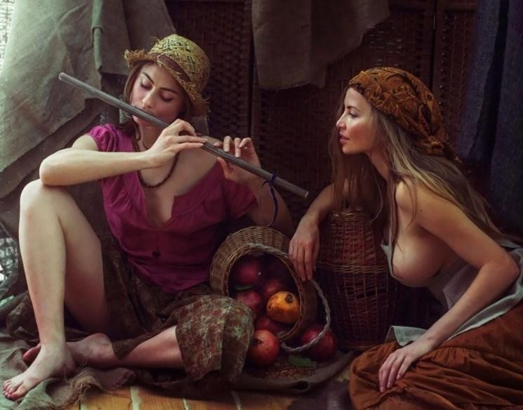 Палав фотограф улови красотата на славянските жени (ГОРЕЩИ СНИМКИ 18+)