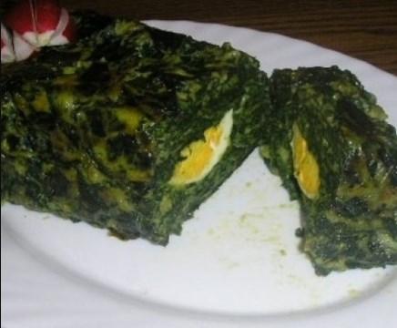Пролетно руло със спанак и варени яйца – порция зелено настроение на трапезата