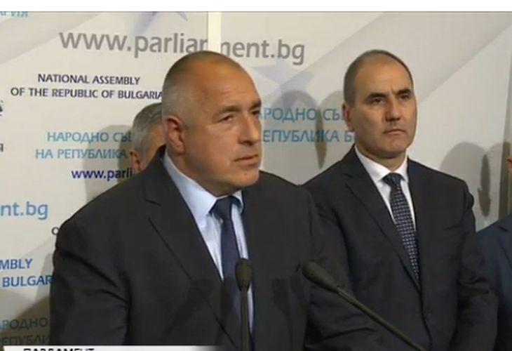 Бойко Борисов обявява резултатите от преговорите. Правителството ще бъде коалиция (ВИДЕО)