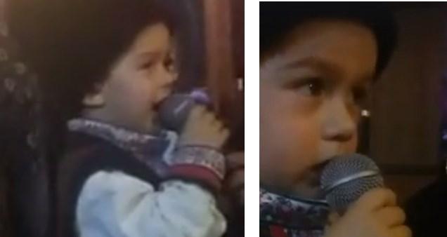 Когато малкият юнак Даниел грабна микрофона и запя народни песни, всички останаха без думи (ВИДЕО)