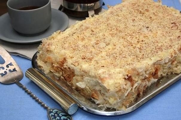 Страхотно! Направете си любимата на Наполеон торта