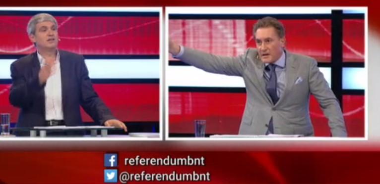 Страшен скандал в ефира! Кирил Домусчиев си показа рогата по БНТ, държа се като мутра пред цяла България (ВИДЕО)