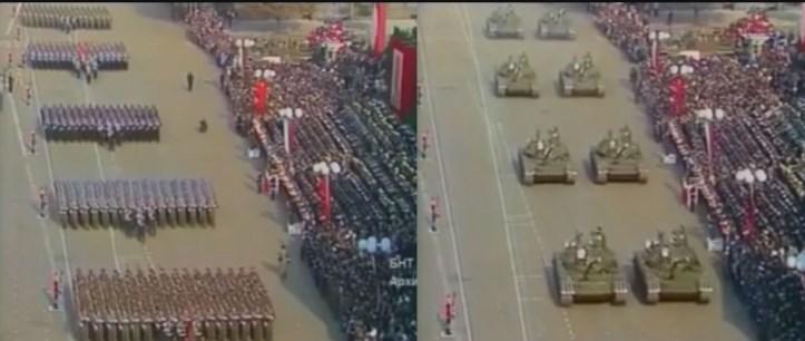 """Няма нужда от коментар! Паралел между парада """"13 века България"""" през 1981 година и парада в наши дни (ВИДЕО)"""