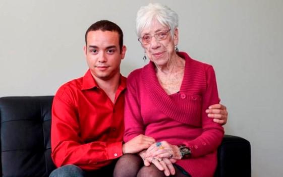 За любовта граници няма! Вижте историята на тази двойка. Разликата им е цели 60 години! (СНИМКИ)