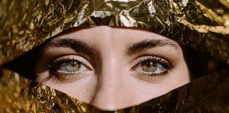 пъстри очи