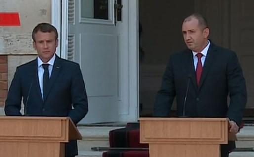 Първи думи след срещата Радев – Макрон в Евксиноград, двамата лидери се разбраха по много ключови теми