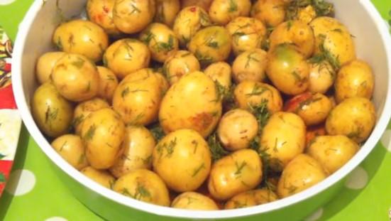 рецепта пресните картофи