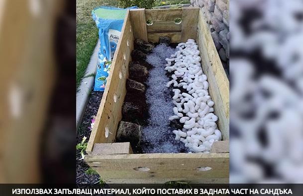 Жена направи 19 дупки в дървено сандъче за цветя. Пет месеца по-късно? МАГИЧЕСКА КРАСОТА! (СНИМКИ)