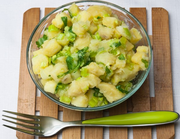 диета с картофи