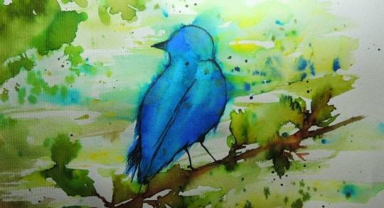 синя птица