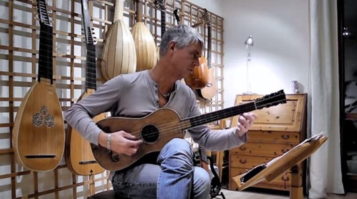 Ето как звучи китара, създадена от Страдивариус през 1679 година (ВИДЕО)