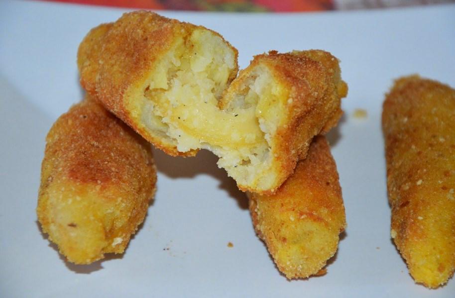 картофени пурички с кашкавал