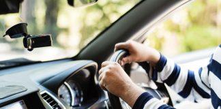 тест волана на автомобила