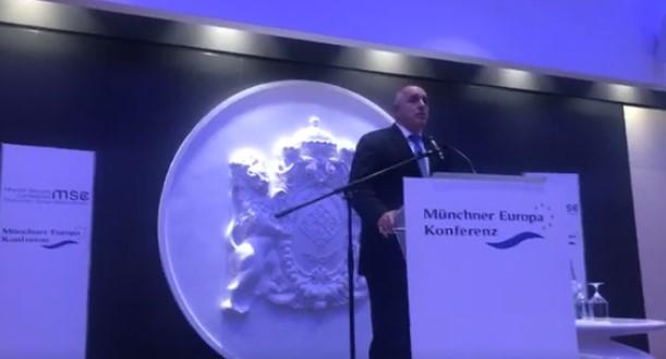 След като посече президента Румен Радев, премиерът Бойко Борисов отправи тежка закана от Мюнхен (ВИДЕО)