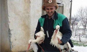 Историята, която за часове трогна цяла България: Един спасител на щъркели с голямо човешко сърце