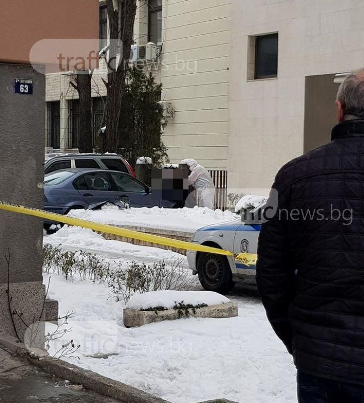 Зловещо убийство вцепени Пловдив: Намериха труп на заклан мъж върху капака на кола, ето и първата версия
