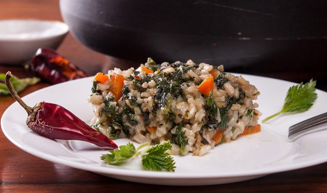 коприва с ориз