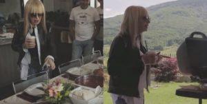 Лили Иванова на пикник с музикантите си: Примата отдъхва в полите на Витоша и се вихри около барбекюто (СНИМКИ)