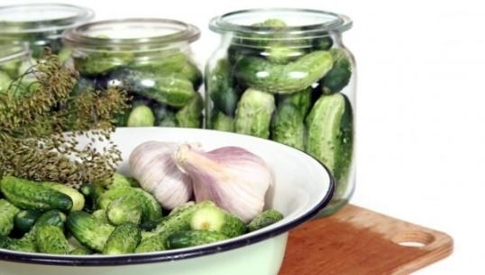 рецепта за кисели краставички