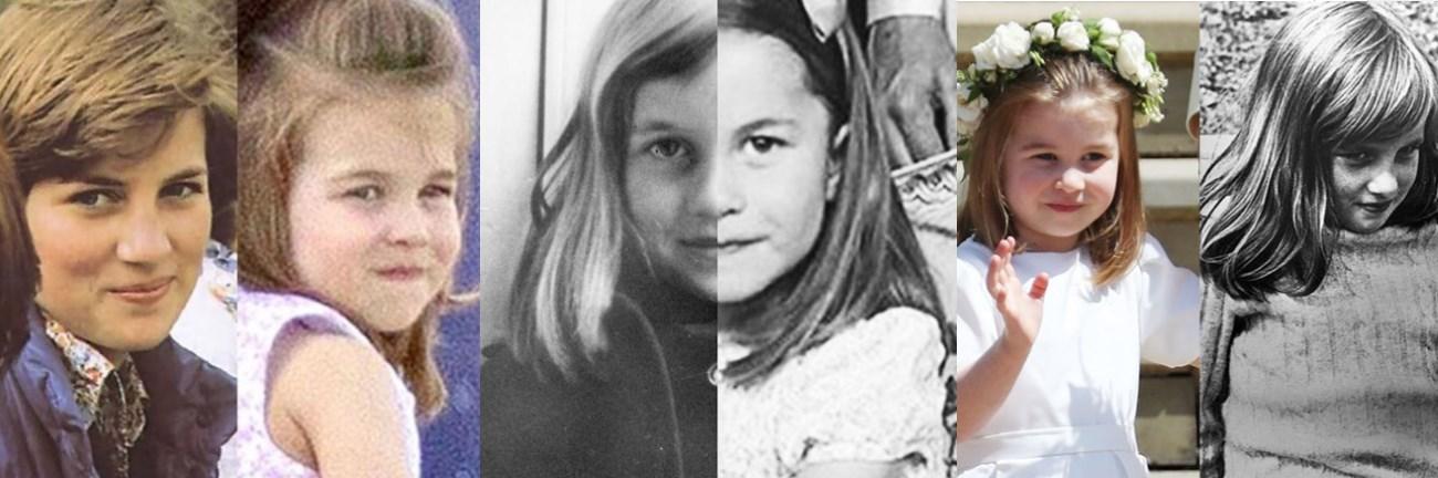 Мрежата прегря: Принцеса Даяна се е преродила в малката си внучка Шарлот, тези СНИМКИ го доказват